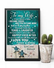 TO MY WIFE - TURTLE - I LOVE YOU 16x24 Poster lifestyle-poster-8