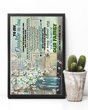To My daughter-in-law - Flowers - I Know You  16x24 Poster lifestyle-poster-8