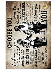 Husband And Wife - Motorcyling - I Choose You 16x24 Poster front
