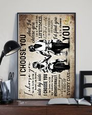 Husband And Wife - Motorcyling - I Choose You 16x24 Poster lifestyle-poster-2