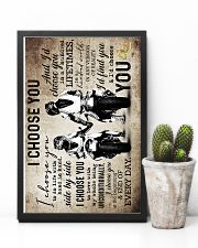 Husband And Wife - Motorcyling - I Choose You 16x24 Poster lifestyle-poster-8