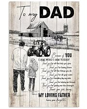 To My Dad - Farmer - Poster 16x24 Poster front