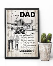 To My Dad - Farmer - Poster 16x24 Poster lifestyle-poster-8