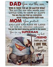 POSTER - TO MY DAD - YOU ARE THE ONE 16x24 Poster front
