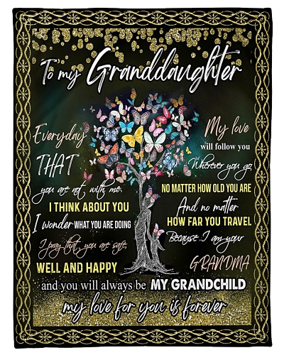 GRANDDAUGHTER - MY LOVE FOR YOU IS FOREVER