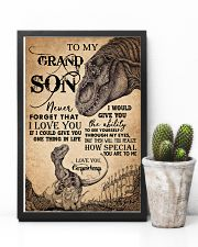 GRANDMA TO GRANDSON 16x24 Poster lifestyle-poster-8