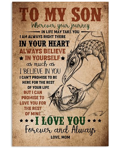 TO MY SON - DRAGON - WHEREVER YOUR JOURNEY