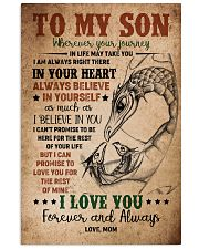 TO MY SON - DRAGON - WHEREVER YOUR JOURNEY 16x24 Poster front