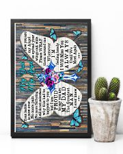 God - To My Angel Dad - Poster  16x24 Poster lifestyle-poster-8