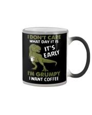 T-SHIRT - COFFEE - I DON'T CARE  Color Changing Mug thumbnail