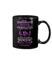 Grandma to Granddaughter - Laugh Love Live - Mug Mug front