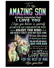 Son - Wolf - Always Remember That I Love You 16x24 Poster front