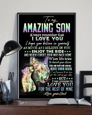 Son - Wolf - Always Remember That I Love You 16x24 Poster lifestyle-poster-2