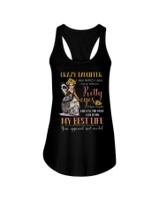 Crazy daughter I am who I am Ladies Flowy Tank thumbnail