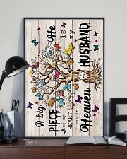 ANGEL HUSBAND - GOD - A BIG PIECE OF MY HEART 16x24 Poster lifestyle-poster-2