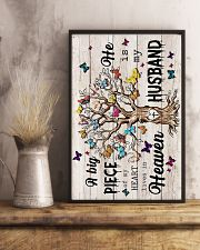 ANGEL HUSBAND - GOD - A BIG PIECE OF MY HEART 16x24 Poster lifestyle-poster-3