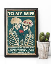 To Wife - Till The End Of Lives - God Blessed  16x24 Poster lifestyle-poster-8