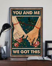 Husband And Wife Hand In Hand - You And Me  16x24 Poster lifestyle-poster-2
