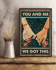 Husband And Wife Hand In Hand - You And Me  16x24 Poster lifestyle-poster-3
