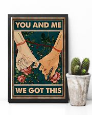 Husband And Wife Hand In Hand - You And Me  16x24 Poster lifestyle-poster-8