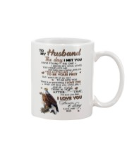 TO MY HUSBAND Mug tile