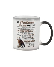 TO MY HUSBAND Color Changing Mug tile