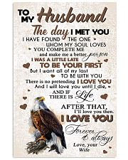 TO MY HUSBAND 11x17 Poster thumbnail
