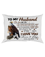 TO MY HUSBAND Rectangular Pillowcase thumbnail
