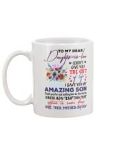 TO MY DAUGHTER-IN-LAW - WINDFLOWERS - CIRCUS Mug back