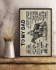 To My Dad - Horse Riding - Poster 16x24 Poster lifestyle-poster-3