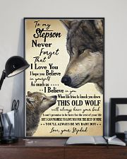 STEPDAD TO STEPSON 16x24 Poster lifestyle-poster-2