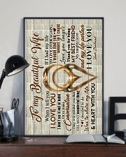 Husband to Wife - Rings - When I Tell You I Love  16x24 Poster lifestyle-poster-2