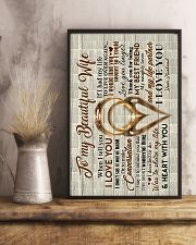 Husband to Wife - Rings - When I Tell You I Love  16x24 Poster lifestyle-poster-3