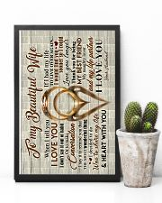 Husband to Wife - Rings - When I Tell You I Love  16x24 Poster lifestyle-poster-8