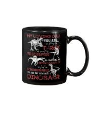 MY LOVING DAD - DINOSAUR - DAUGHTER SHIRT Mug thumbnail