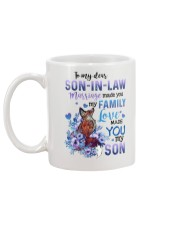 TO MY SON-IN-LAW - FOX - LOVE MADE YOU MY SON Mug back