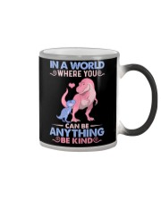 GRANDMA TO GRANDKIDS - IN A WORLD - BE KIND Color Changing Mug thumbnail