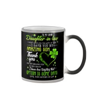 DAUGHTER-IN-LAW - CLOVER - PATRICK'S DAY - CIRCUS Color Changing Mug thumbnail