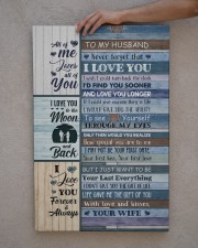 To Husband - Blue Wooden - I Wish I Could Turn  20x30 Gallery Wrapped Canvas Prints aos-canvas-pgw-20x30-lifestyle-front-29