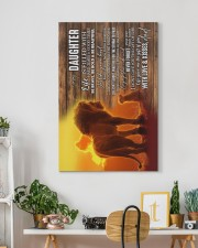 To My Daughter - Life Is Filled With Hard Times  20x30 Gallery Wrapped Canvas Prints aos-canvas-pgw-20x30-lifestyle-front-03