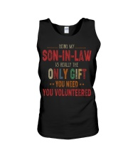 BEING MY SON-IN-LAW - THE ONLY GIFT YOU NEED Unisex Tank thumbnail