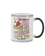 TO MY HUSBAND Color Changing Mug thumbnail
