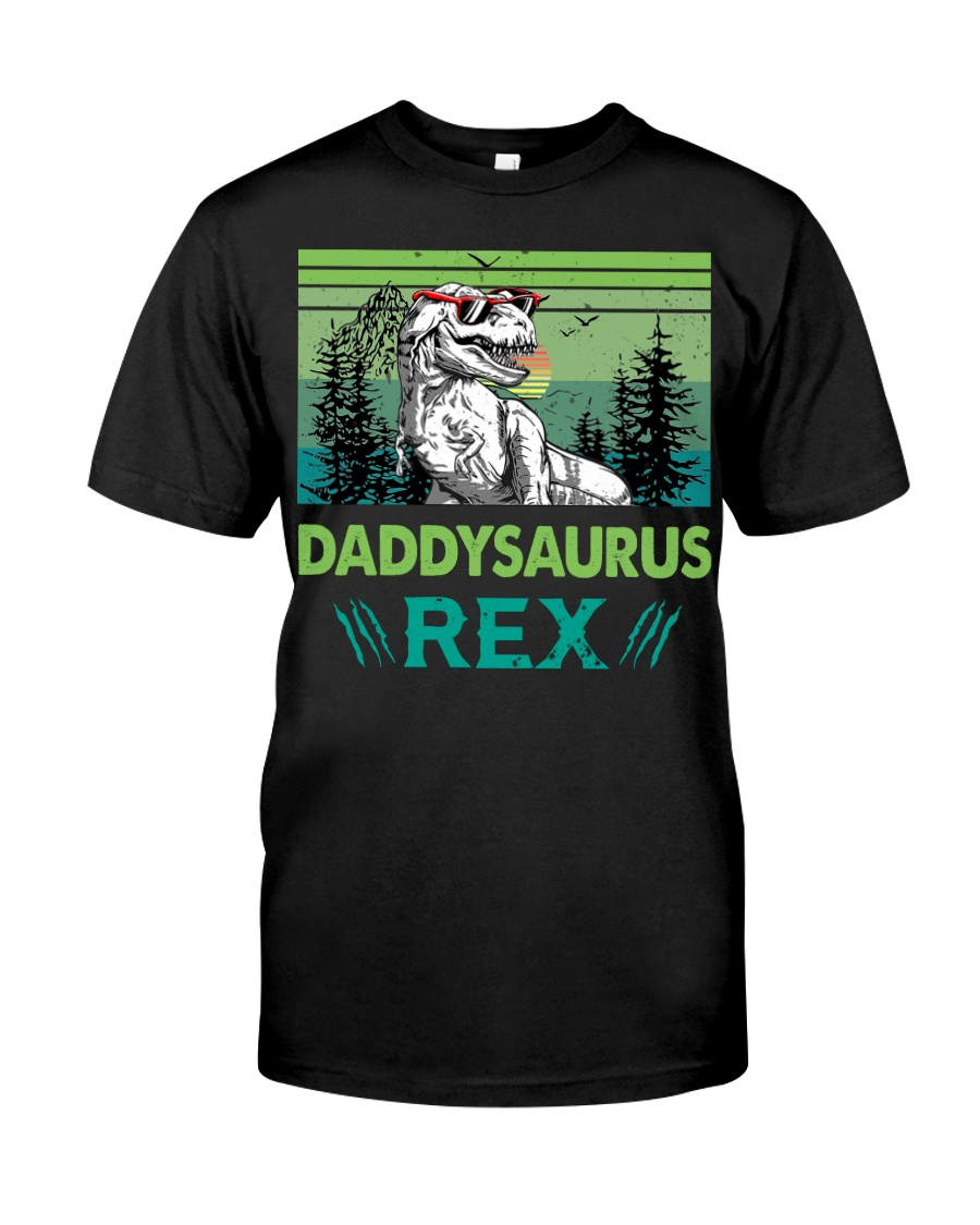 T-SHIRT - TO DAD - DADDYSAURUS REX Classic T-Shirt