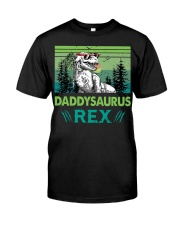 T-SHIRT - TO DAD - DADDYSAURUS REX Classic T-Shirt front