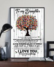 To My Daughter - Tree - For All The Things My  16x24 Poster lifestyle-poster-2