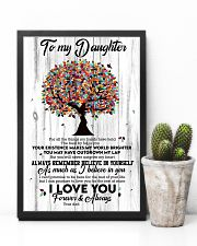 To My Daughter - Tree - For All The Things My  16x24 Poster lifestyle-poster-8