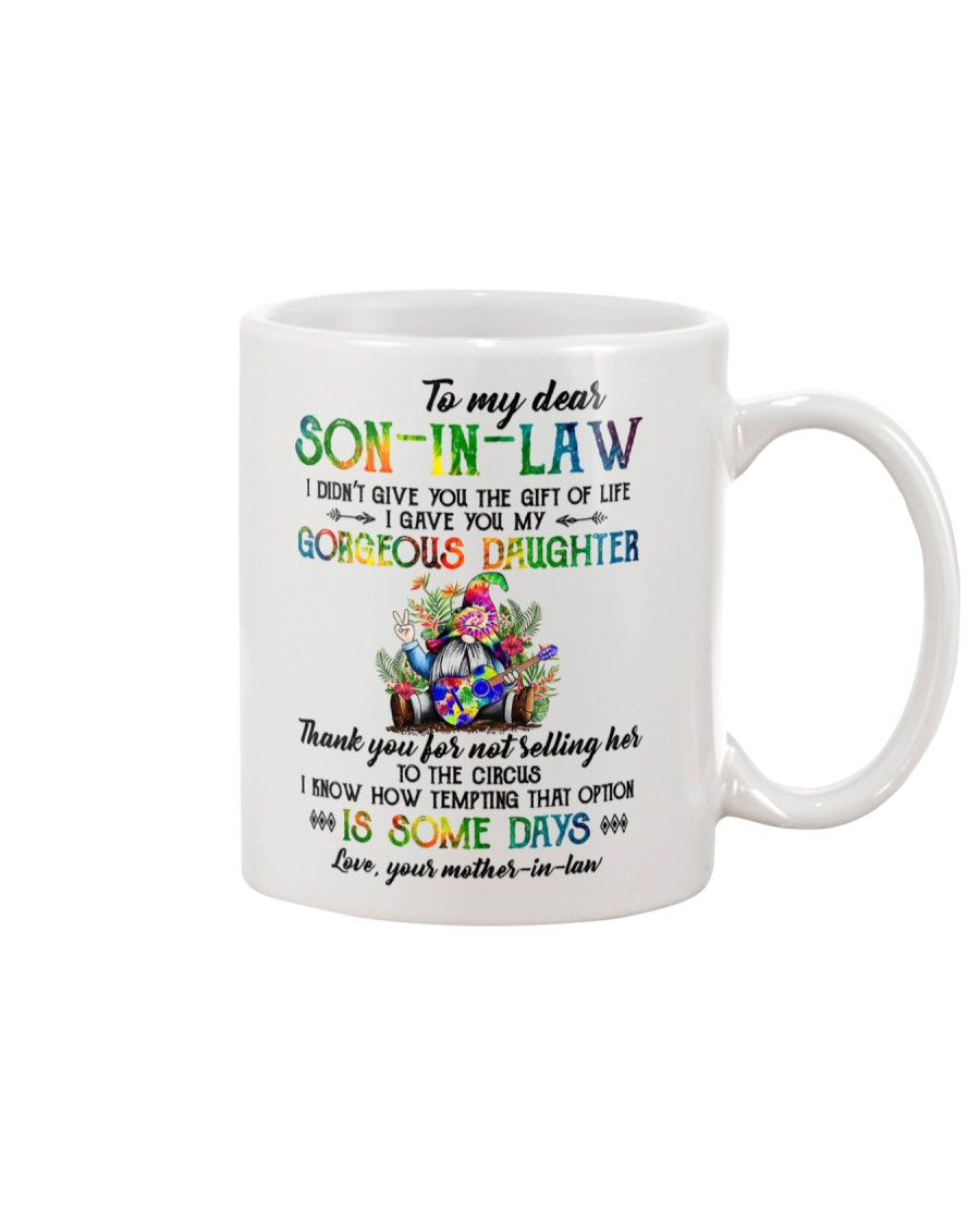 TO MY SON-IN-LAW - HIPPIE - CIRCUS Mug