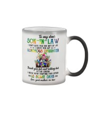 TO MY SON-IN-LAW - HIPPIE - CIRCUS Color Changing Mug thumbnail