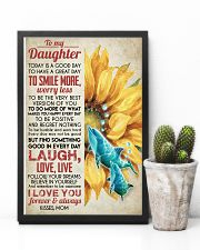 DAUGHTER - SUNFLOWER DOLPHIN - TODAY IS A GOOD  16x24 Poster lifestyle-poster-8