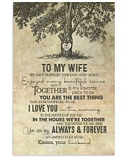 Wife - Tree - We Have Traveled Through Many Roads 11x17 Poster thumbnail